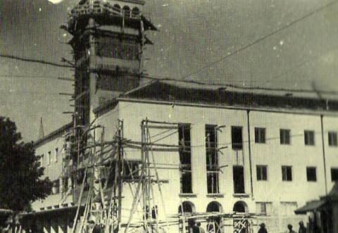 Строителството на общината