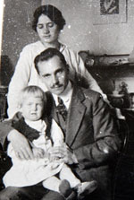 Assen Zlatarov with his family