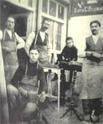 Workshop in Haskovo in the early 1920s